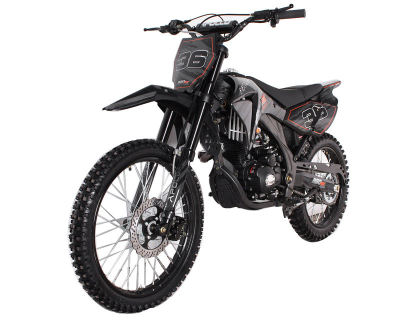 Most Popular Dirt Bike 250cc SINGLE CYLINDER 4 STROKE - Air Cooled - Kick & Electric Start - Manual Clutch - FRONT/ REAR DISC BRAKE - Ignition C.D.I - PDXMotorSport