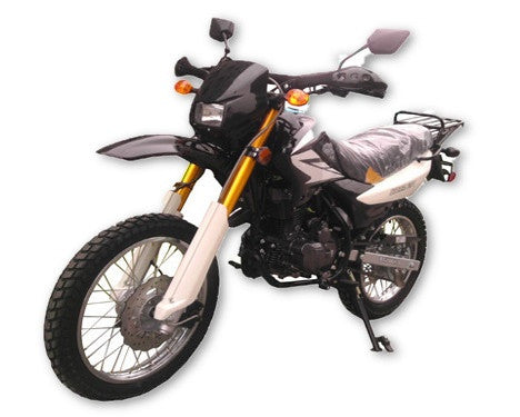 Dirt Bike 250 Single Cylinder 4 Stroke - Air Cooled Engine - Balance Shaft Engine - 5 Gear Shifting - Manual Clutch On/Off road use - Could Be Licensed In Most States - On-Road Tire Wide & Comfortable Seat - 12 Liters Fuel Tank Capacity - Top Speed - PDXMotorSport