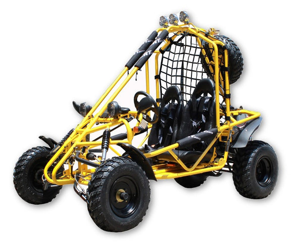Spider Style Gokart 200 Honda CRF Series Clone Engine - Single Cylinder 4 Stroke - Fully Automatic with Reverse - Air-Cooled - Dual A Arm(F)/ Single Spring(R) - PDXMotorSport
