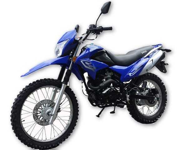 NEW!! Dirt Bike 250cc Off-Road Tire - International 5 Gear Shifting - 4 Stroke - Electric & Kick Start - Manual Clutch - Front Disc Brake & Rear Disc Brake - Air Cooled - PDXMotorSport