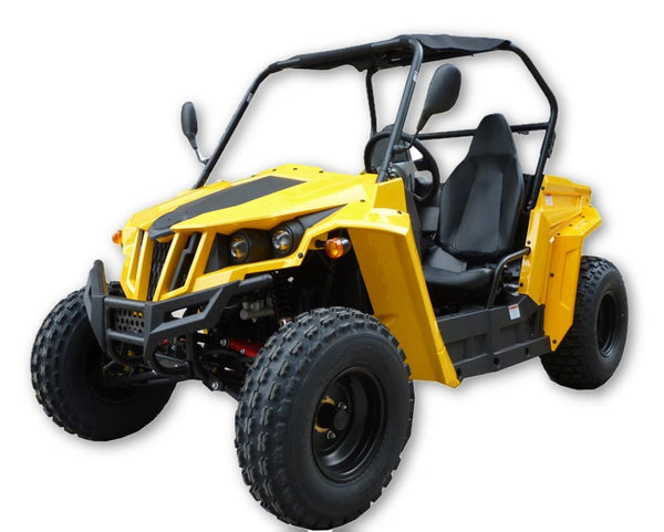 The Hawk UTV 150X Four Stroke - Hydraulic Disc Brakes - Forced Air Cooling - Cluth Automatic - Ignition CDI
