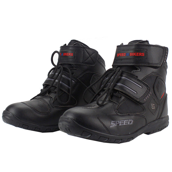 Professional motorcycle boots men motorbiker boots botas motorcycles moto shoes racing pro biker,Size 40-45 black