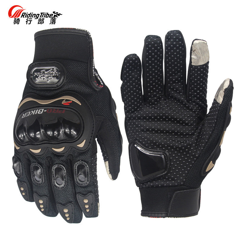 Riding Tribe Touch Screen Gloves Motorcycle Gloves Winter & Summer Motos Luvas Guantes Motocross Protective Gear Racing Gloves - PDXMotorSport