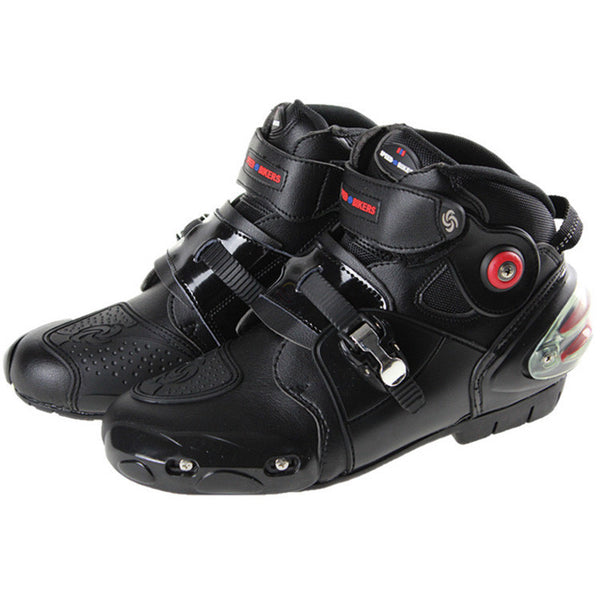 Pro-biker boots motorcycle racing boots men motocross riding boots size 40-47 black