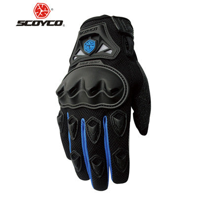 SCOYCO Motorcycle Gloves Summer Breathable Wearable Protective Guantes Moto Luvas Alpine Motocross Stars Gants Moto Verano guant - PDXMotorSport