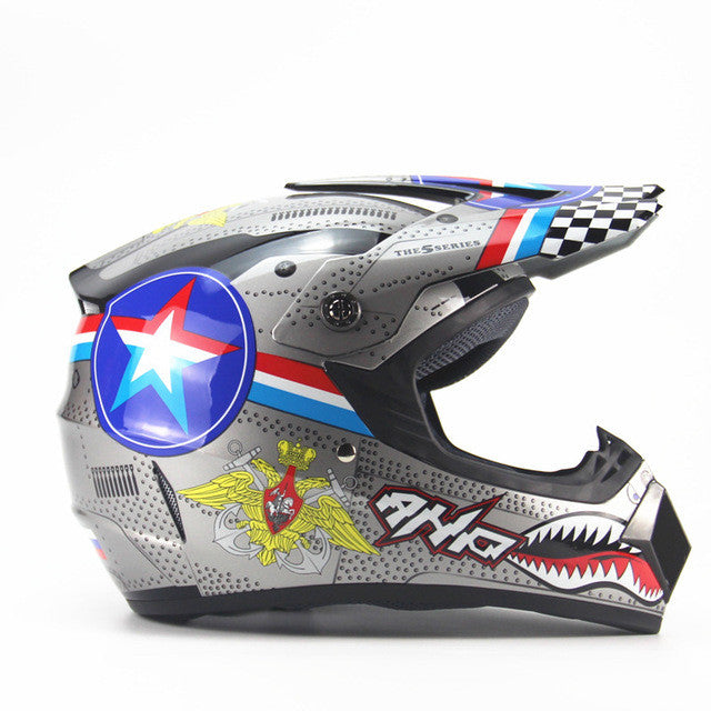 Motorcycle Adult motocross Off Road Helmet ATV Dirt bike Downhill MTB DH racing helmet cross Helmet capacetes - PDXMotorSport
