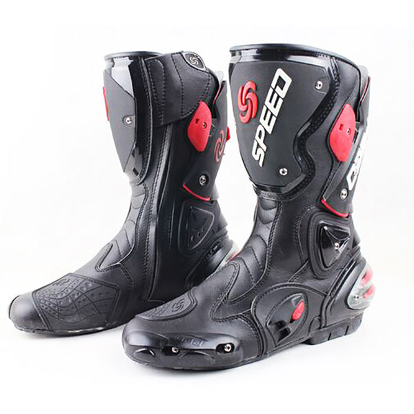 Motorcycle Boots SPEED BIKERS Racing Boots,Motocross Boots, Motorbike boots SIZE: 40/41/42/43/44/45