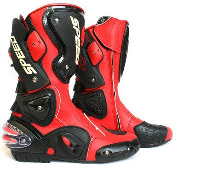 Motorcycle Boots SPEED BIKERS Racing Boots,Motocross Boots, Motorbike boots SIZE: 40/41/42/43/44/45 - PDXMotorSport