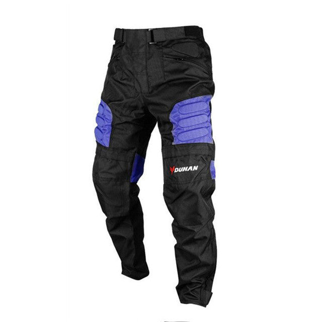 DUHAN Men's Windproof MOTO Pants Motorcycle Mountain Cycling Trousers Straight Pants Men's Motorcycle Long Pants Hip Protector - PDXMotorSport
