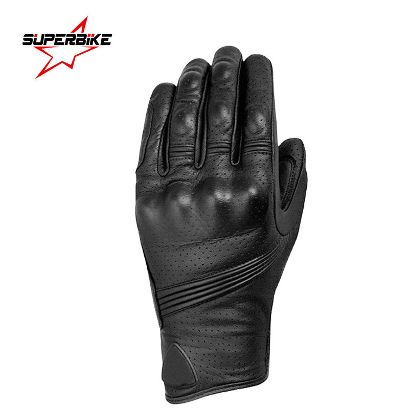 Motorcycle Gloves Touch Screen Men Goatskin Leather Glove Cycling Racing Full Finger Motorbike Moto Bicycle Bike Motocross Luvas - PDXMotorSport