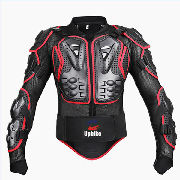 New model Professional Motorcycle Body Protector Racing Motocross Full Body Armor Spine Chest Protective Jacket Gear