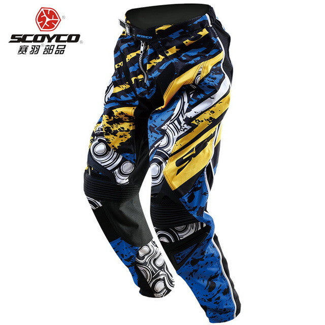 New SCOYCO Motocross Motorbike racing pant Moto riding trousers motorcycle pants professional athletics wicking P033 - PDXMotorSport