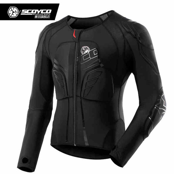 Scoyco Brand Jacket Armor Memory Slow Rebound  Motocross Protective Gear Motorcycle Body Guards