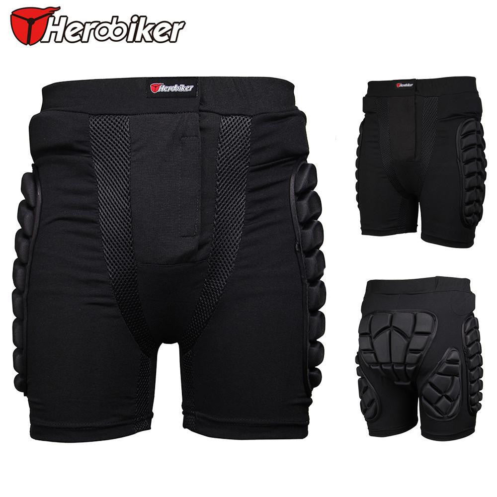 Herobike Motocross Shorts Snowboad body Armor Racing Skateboard Skiing Motorcycle Trousers Sport Protective Gear Hip Pad - PDXMotorSport