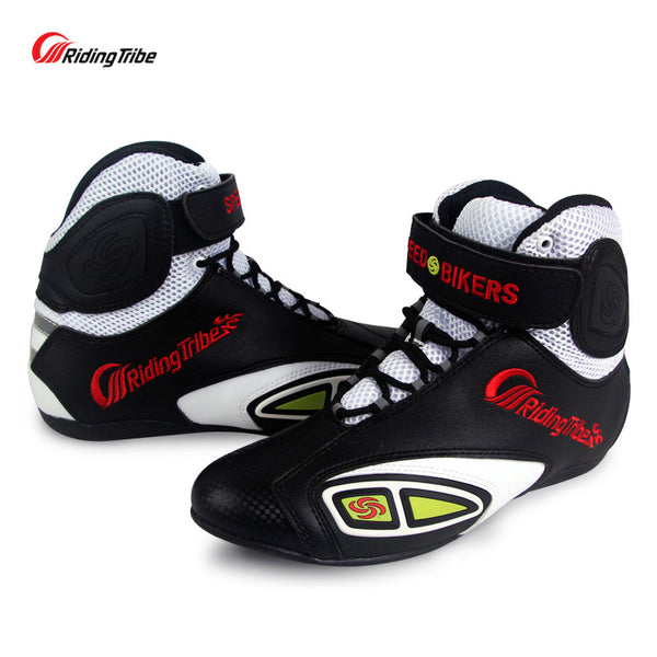 Riding Tribe Off-road Racing Shoes Summer Motorcycle Motorbike Motocross Riding Boots Motos Botas Motociclismo Chuteiras