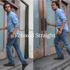 relaxed-straight