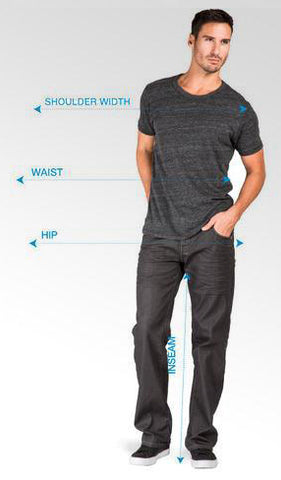 How to Measure Yourself for Men's Jeans