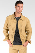Timber Cotton Canvas Garment Washed Trucker Jacket Rugged & Stylish