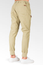 Drop Crotch Fit Avocado Green Premium Stretch Twill Jogger Jeans Zipper Pockets