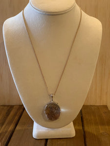 Lodolite Crystal Necklace