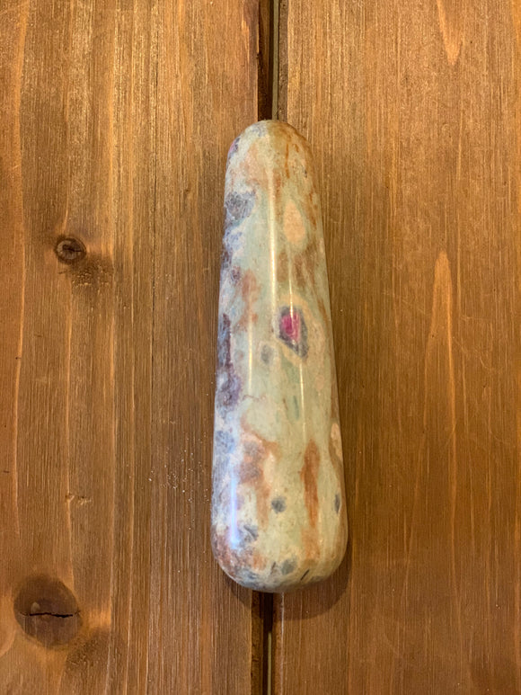 Ruby Zoisite Massage Wand