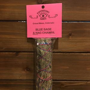 Blue Sage and Nag Champa Smudge