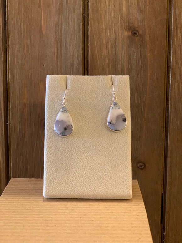 Dendritic Agate Earring