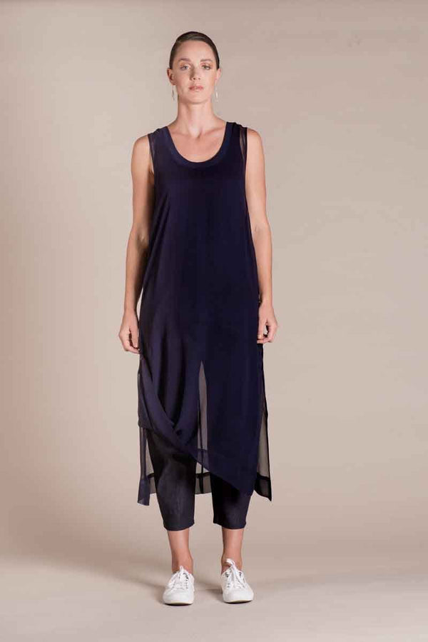 Maia's Tunic - Navy