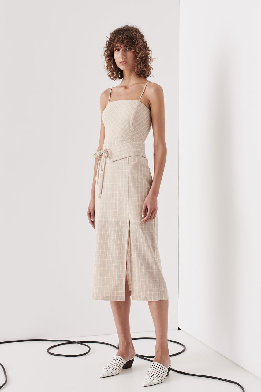 Kew Dress - Nude Check