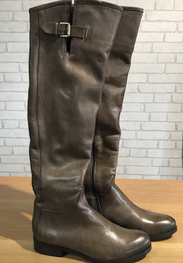 Knee High Boots - Sauvage Fango
