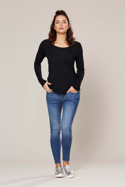 Basic Long Sleeve Top - Assorted