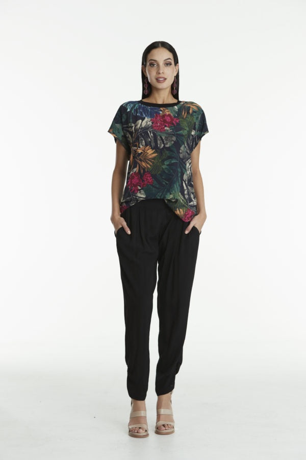 Silhouette Ransom Pants - Black Ink