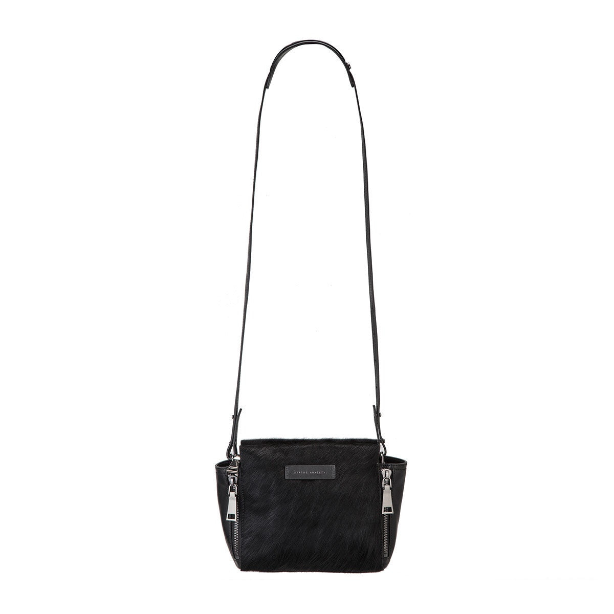 The Ascendants Bag - Black/Black Fur
