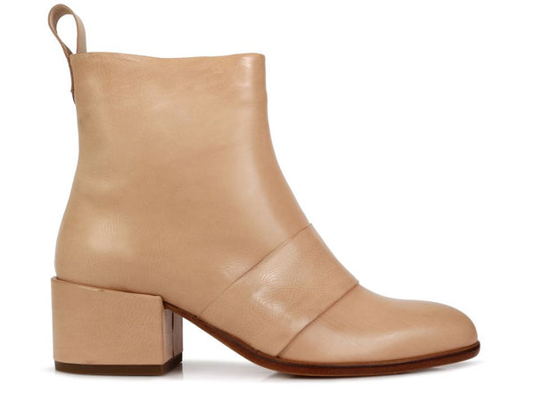 Chester Ankle Boots - Beige