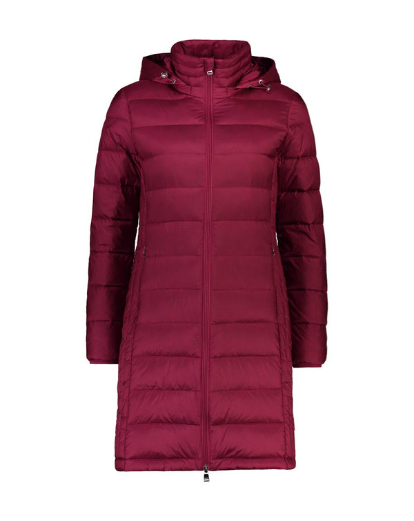 Sarah Packable Down Jacket - Berry