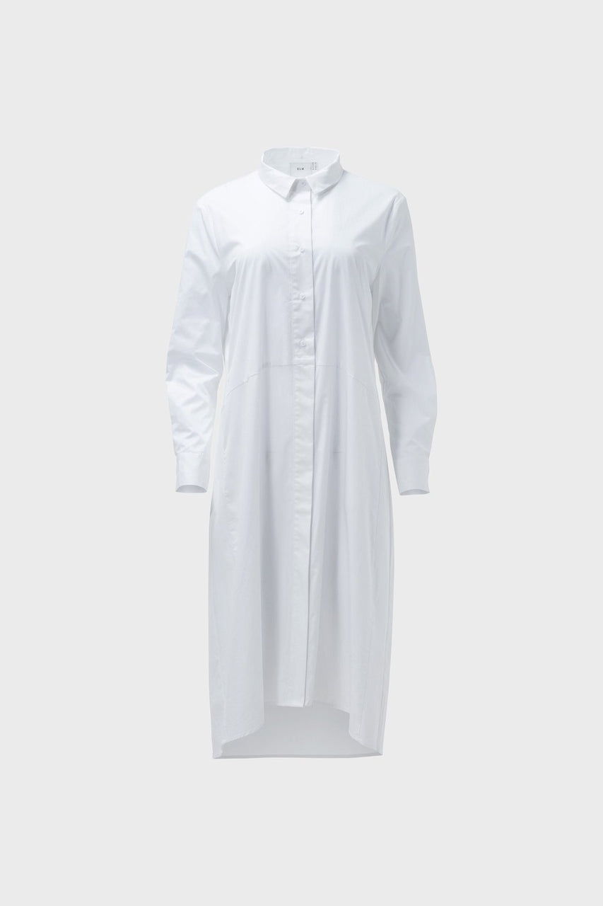 Dania Shirt Dress - White