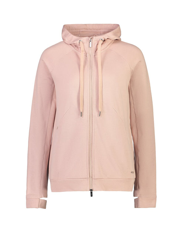 Molly Zip Up Sweater - Musk