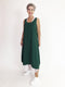 Half Moon Layer Dress - Grass Green