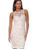 Rose Riviera Dress - Cream