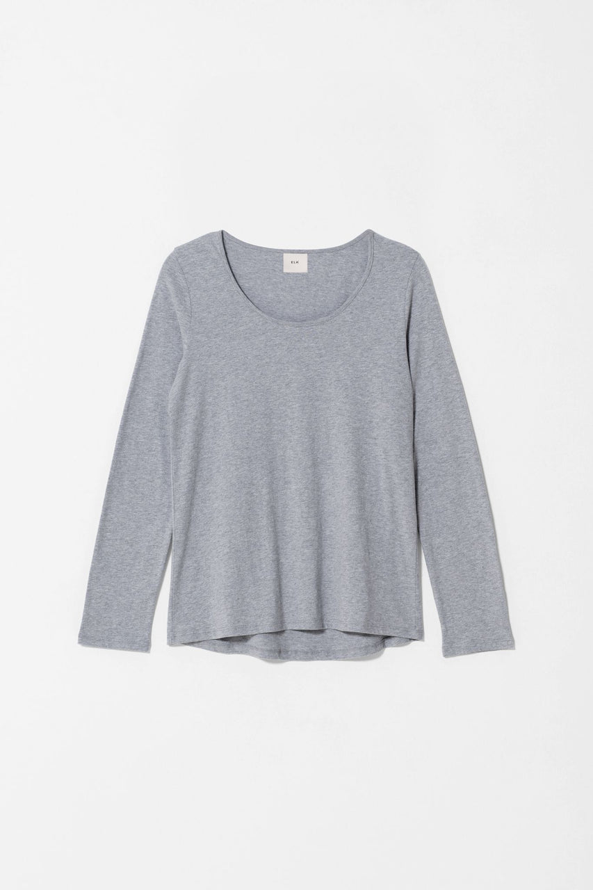 Saraby Skin Top - Grey Marle