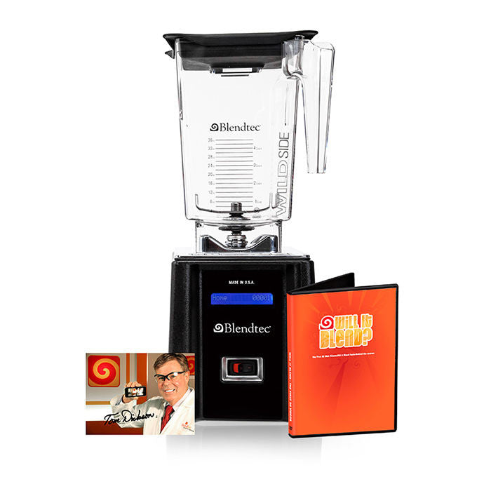 Blendtec Tom Dickson Extreme Blender w/ 96oz WildSide+ & 64oz Fourside Jar Black