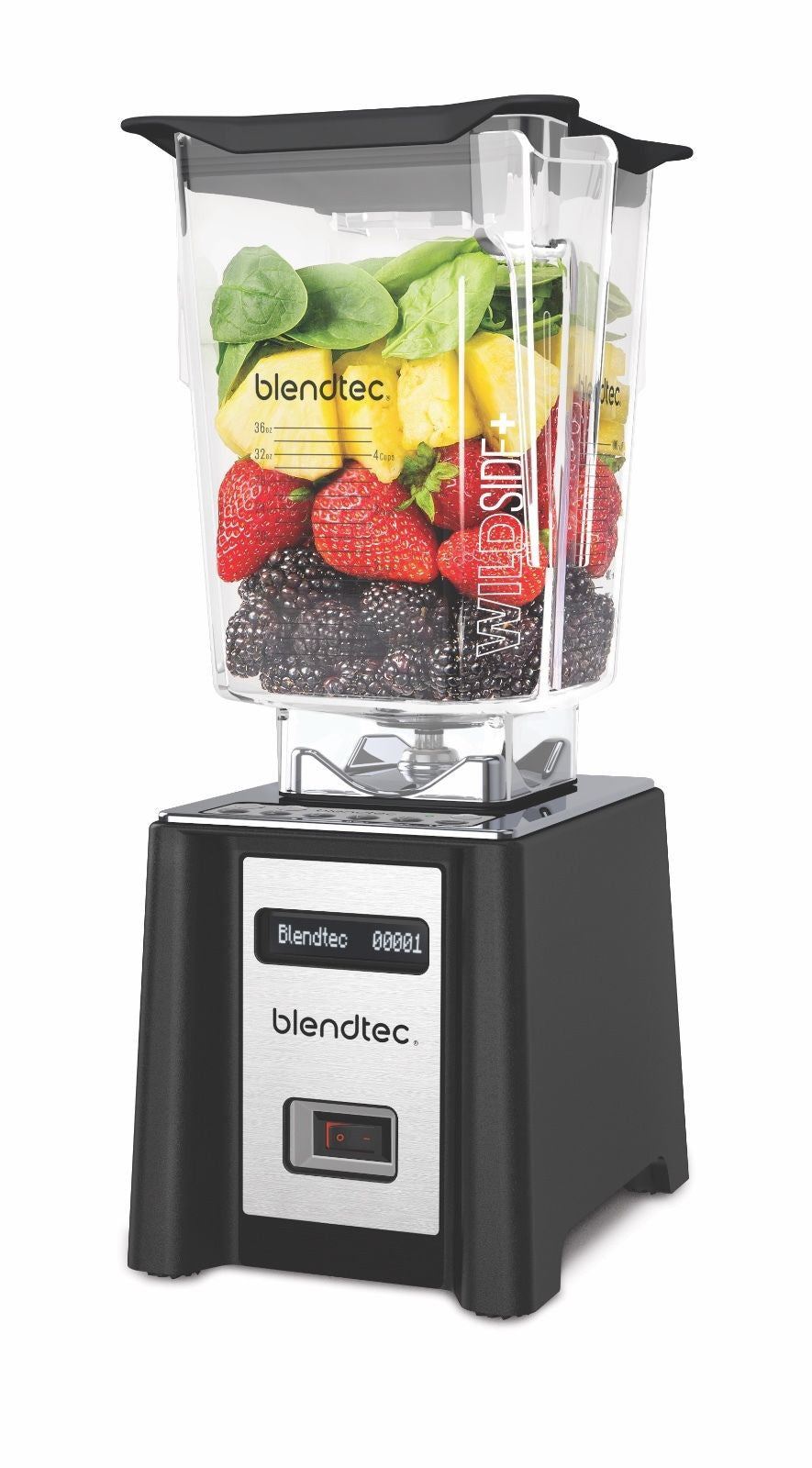 Blendtec Professional 750 Blender with WildSide+ Jar Warranty Black