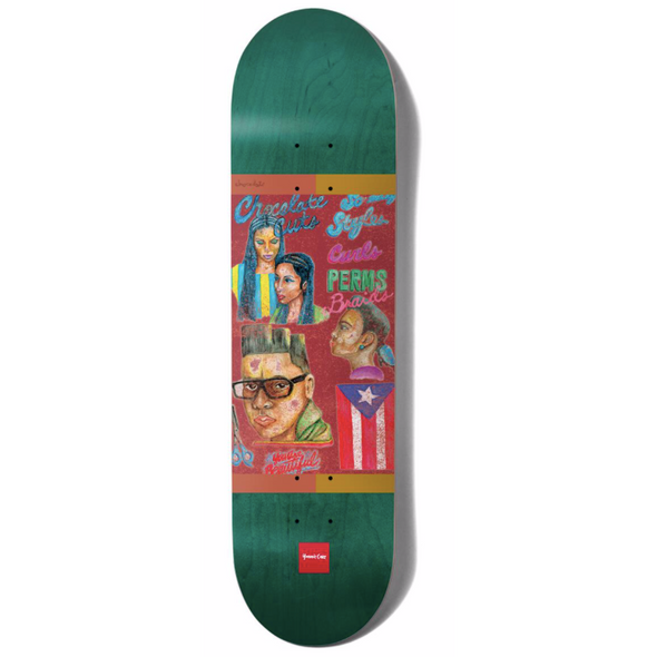 Chocolate Cruz Chocolate Cuts 8.18 Deck
