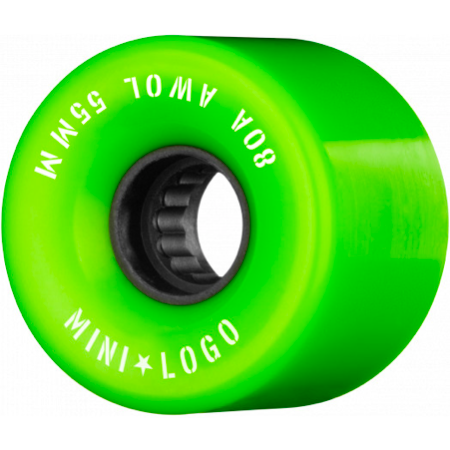 Mini Logo A.W.O.L green 55mm 80a Cruiser Wheels