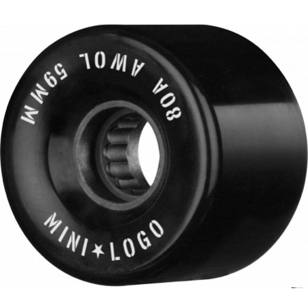 Mini Logo A.W.O.L Black 59mm 80a Cruiser Wheels