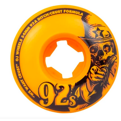 OJ Original Orange 54mm 92a Wheels