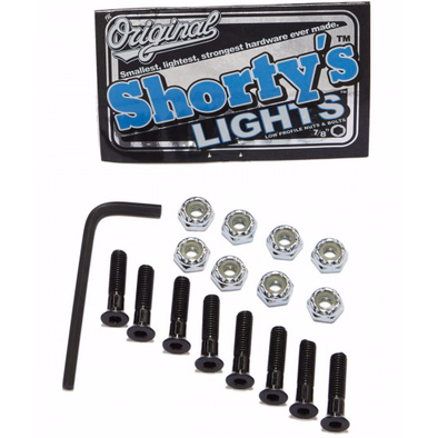 "Shorty's Lights Allen 7/8"" Hardware"