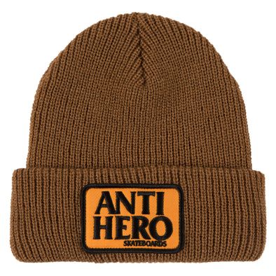 Anti Hero Reserve Patch brown Beanie