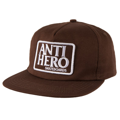 Anti Hero Reserve Patch brown/white Snapback Hat