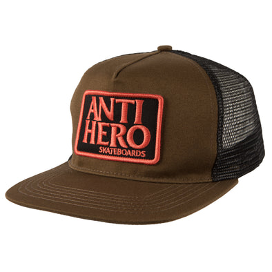 Anti Hero Reserve Patch Trucker olive/brown Hat
